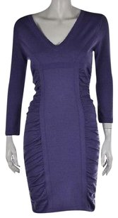 Diane von Furstenberg short dress Purple Sweater on Tradesy