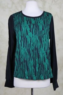 Diane von Furstenberg Womens Top Green