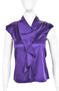 Diane von Furstenberg Womens Top Purple