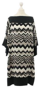 Diane von Furstenberg short dress Multi-Color Dvf Ayana Black White Nude on Tradesy
