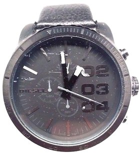 Diesel Diesel Dz4216 Black Dial Leather Strap Mens Watch