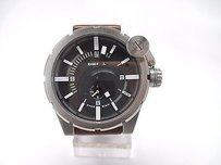 Diesel Diesel Dz4270 Mens Bold Collection Brown Leather Band Analog Watch