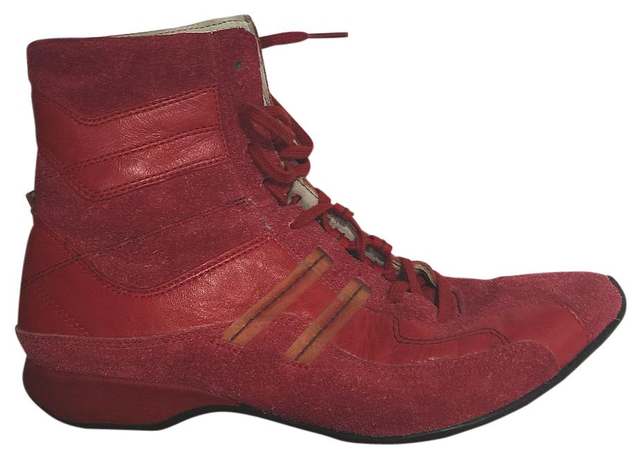 Diesel Red US Beige Foxtrott Womens Wrestling Boots Sneakers Size US Red 8.5 Regular (M, B) 97db80