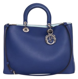Dior Christian Tote in Blue