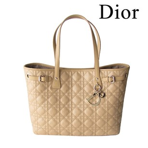 Dior Beige Canvas Panarea Shoulder Bag