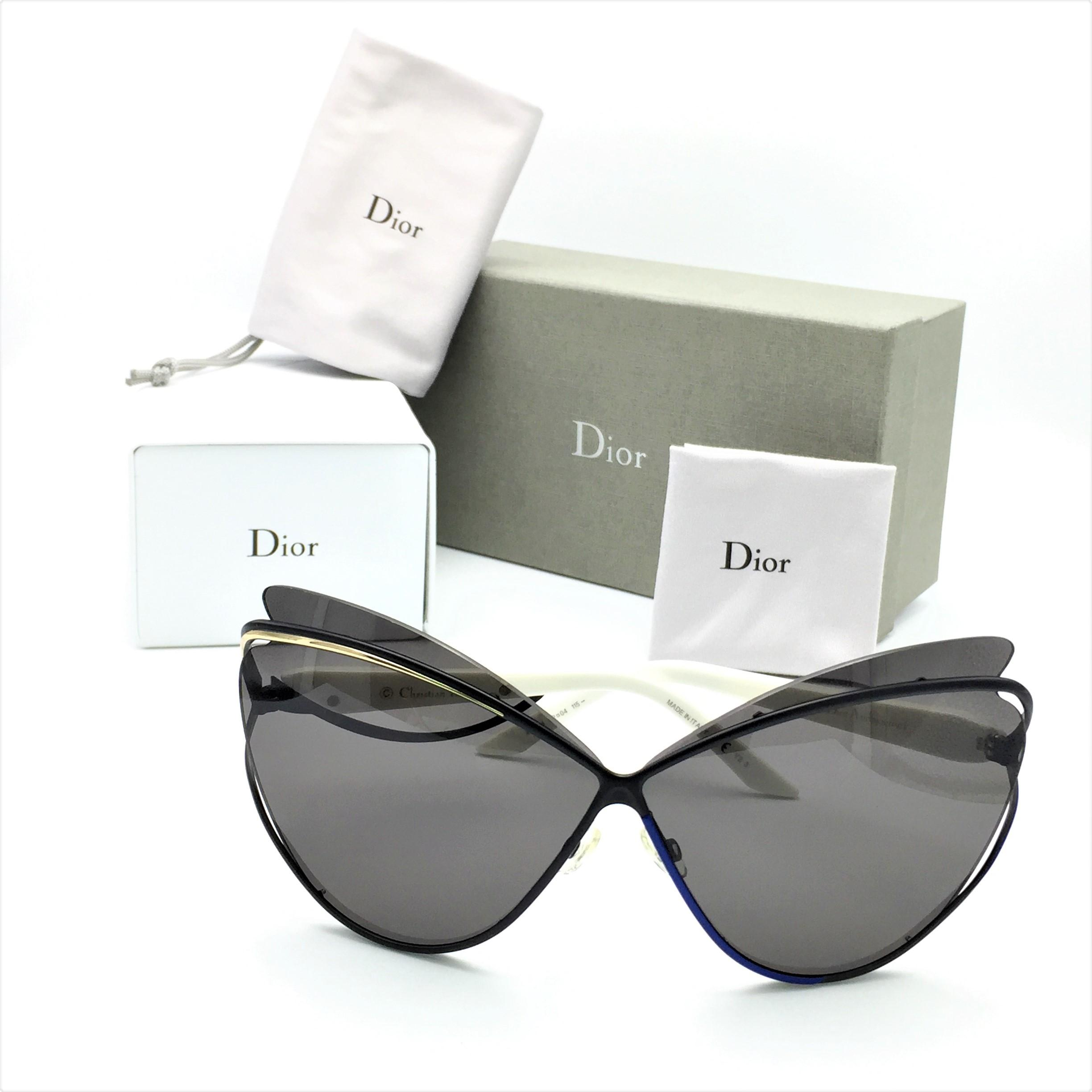 Dior Black Gold Limited Edition Audacieuse 1 Cat Eye Blue ...