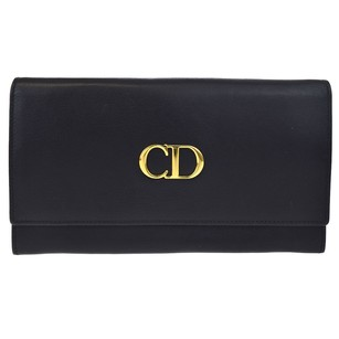 Dior Christian Dior Bifold Wallet Purse Leather