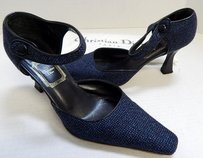 Dior Christian Navy Blue Pumps