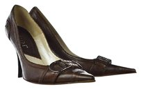 Dior Womens Pointed Toe Brown Pumps