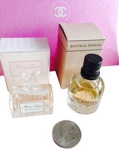 Dior Dior & BOTTEGA. Miniature Set Of 2