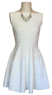 Dior short dress White on Tradesy