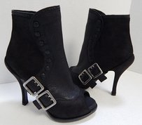 Dior Christian Leather Black Boots