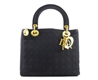 Dior Lady Lady Tote in black