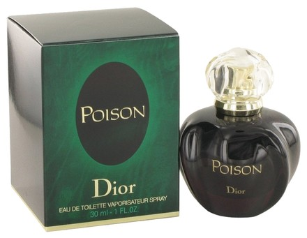 Dior Poison By Christian Dior Eau De Toilette Spray 1 Oz