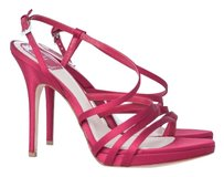 Dior Satin Sandal Leather Red Sandals