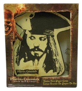 Disney Pirates Of The Caribbean Dead Man's Chest Jumbo Rice Paper Lamp