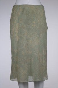 DKNY Womens Teal Beige Skirt Pale Teal, Beige, Taupe