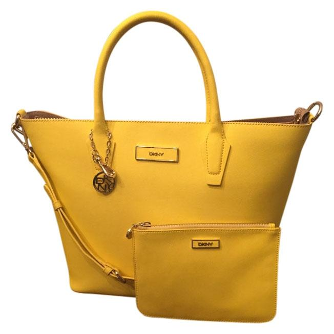 DKNY Yellow Tote Bag on Sale, 54% Off | Totes on Sale
