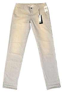 DL1961 B0 Dlx Iris Relaxed Farington Striped Slim Trouser 27 Pants