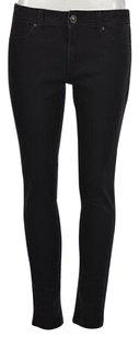 DL1961 Womens Faded Black Skinny Colored Pants Cotton Trousers Skinny Jeans