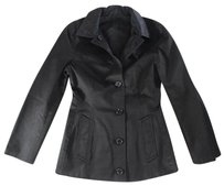 Dolce&Gabbana 38 Black Cotton Dolce Nn Coat