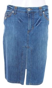 Dolce&Gabbana Denim Couture Skirt DENIM BLUE