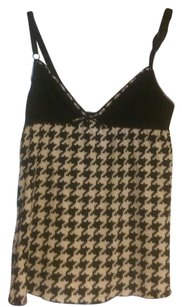 Dolce&Gabbana Houndstooth Top Black & White