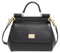 Dolce&Gabbana Miss Sicily Leather Cross Body Bag