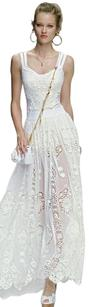 Dolce&Gabbana Lace Wedding Spring Maxi Skirt White
