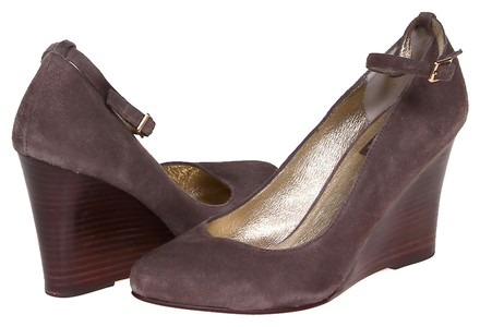 Dolce Vita Suede Taupe Wedges