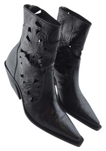 Donald J. Pliner Ankle Black Boots