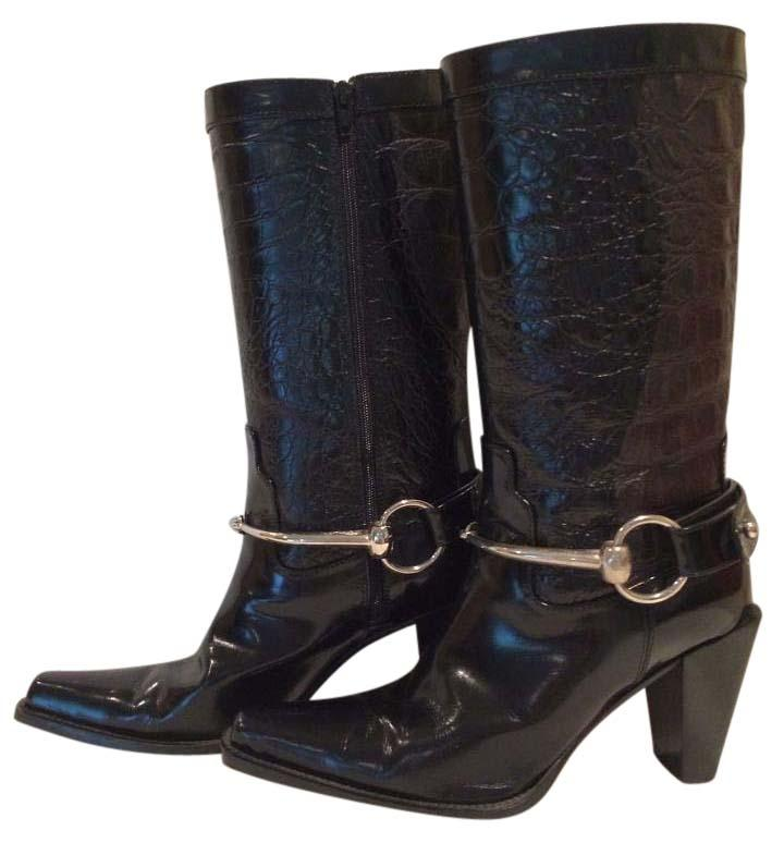Donald J Pliner Embossed Mid-Calf Boots buy cheap very cheap outlet 2015 sale release dates sale outlet locations 0ZxQmII