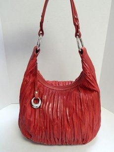 Donald J. Pliner Ruched Hobo Bag