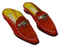 Donald J. Pliner J Sz 5.5 Red Mules