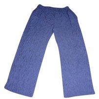 Donna Rico Vintage Clothing Relaxed Pants blue