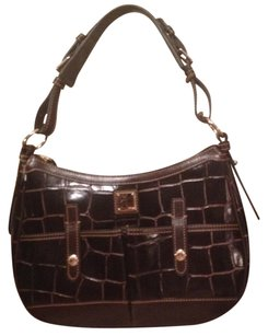 Dooney & Bourke Satchel in Dark Brown