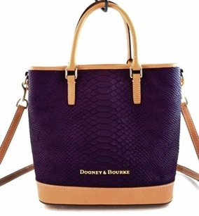 Dooney & Bourke Leather Cara Tote in Blue