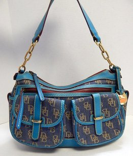 Dooney & Bourke Denim Shoulder Bag