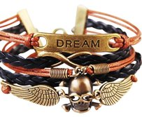 Dream Bracelet Multiler Draem Skull Wristband