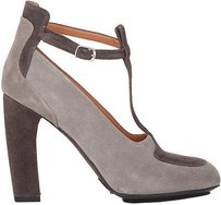 Dries van Noten Suede Heels Eu Gray Pumps