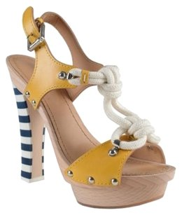 DSquared Slingbacks Multi-Color Sandals