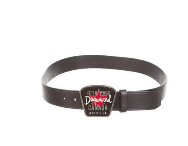 Leather belt Dsquared2 g3czW