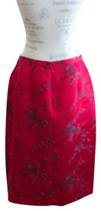 Due per Due Asian Orient Skirt Red