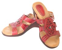 Earth Origins Red Sandals