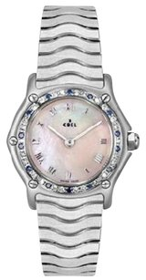 Ebel Mother of Pearl Dial Stainless Steel Ladies Watch 9157116/921028P