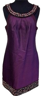 ECI New York short dress Purple Tea on Tradesy