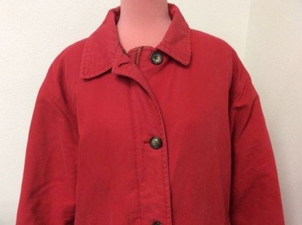 hot sale 2017 Eddie Bauer Vintage Goose Down Jacket Womens Red Coat
