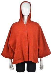 Eileen Fisher Womens Red Jacket