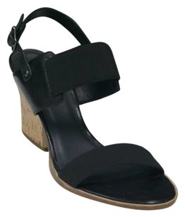 Eileen Fisher Black Wedges
