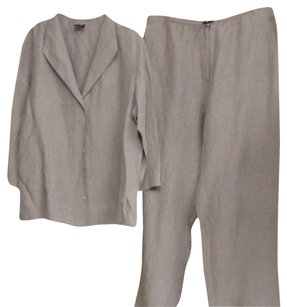 Eileen Fisher Eileen Fisherm 2 PC Pants Set Size M